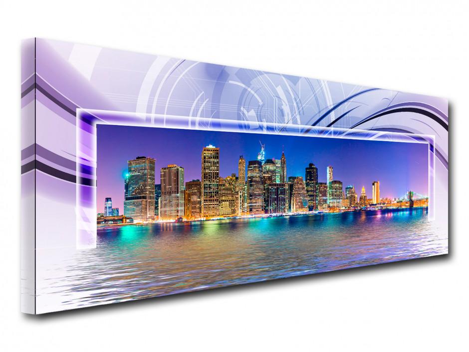 Tableau design panoramique New York