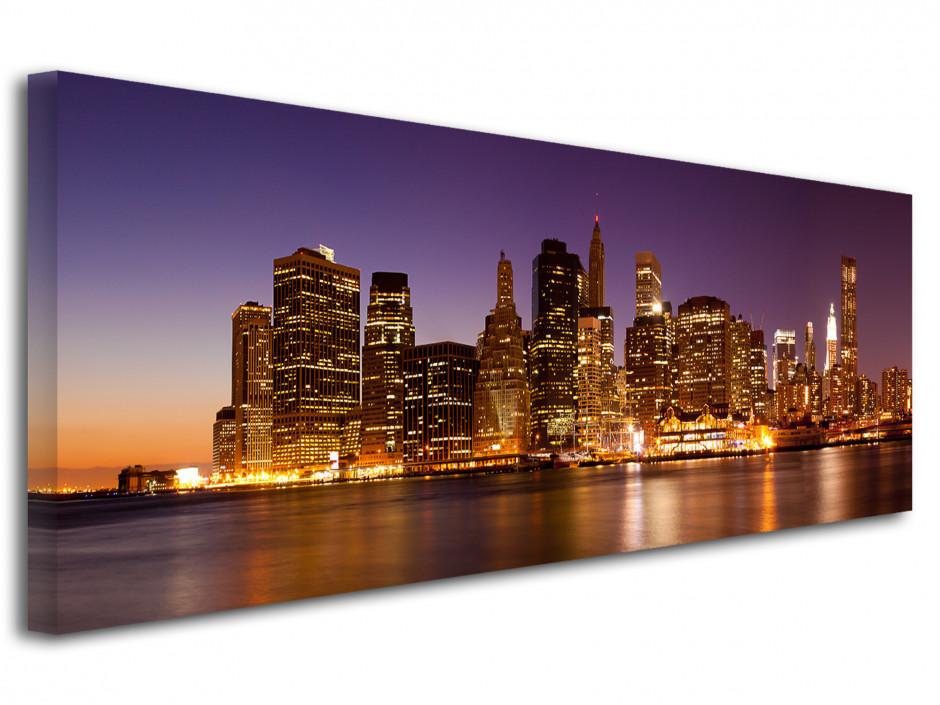 Tableau deco vue panoramique sur New York