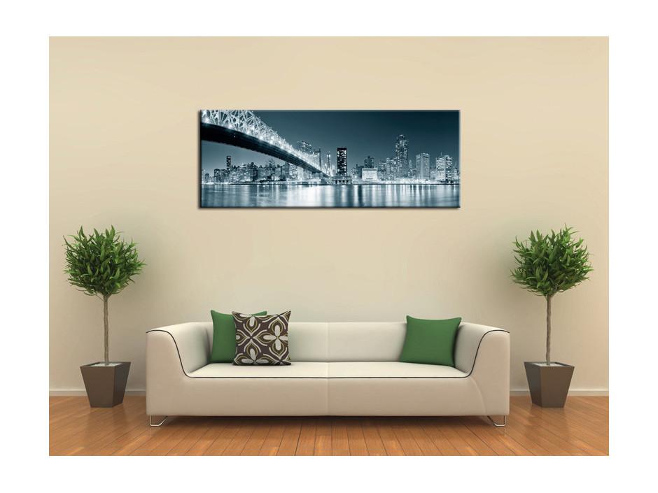 Tableau toile deco panoramique sur New York