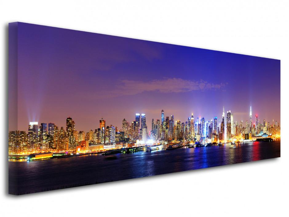 Tableau deco panoramique Manhattan