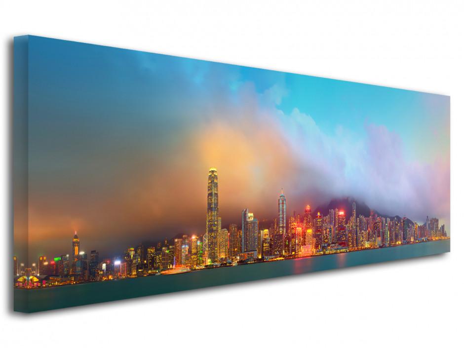 Tableau deco panoramique Hong Kong