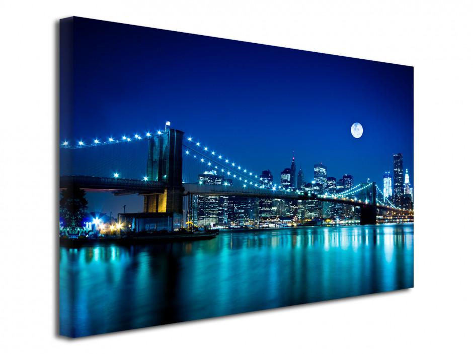 Tableau toile déco Pont de Brooklyn