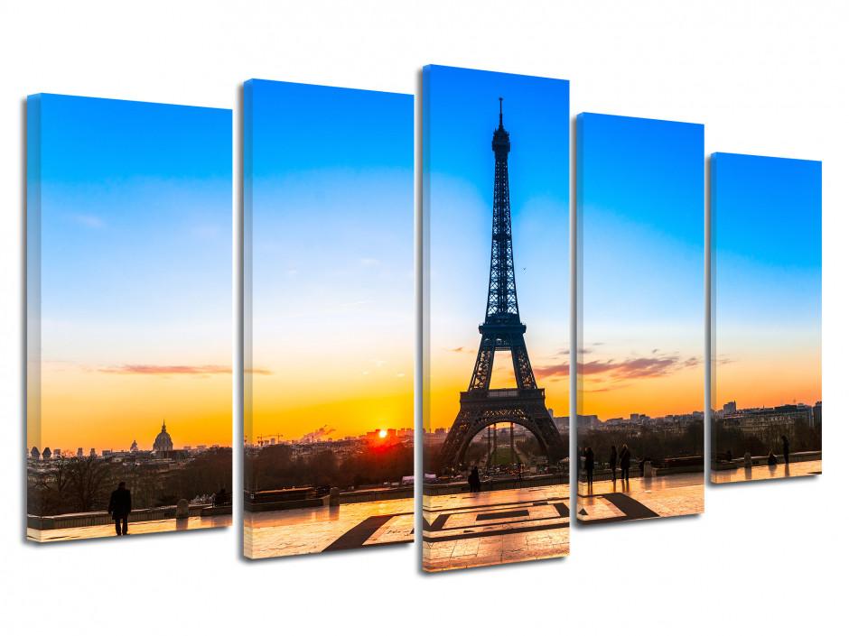 Tableau moderne toile deco Paris