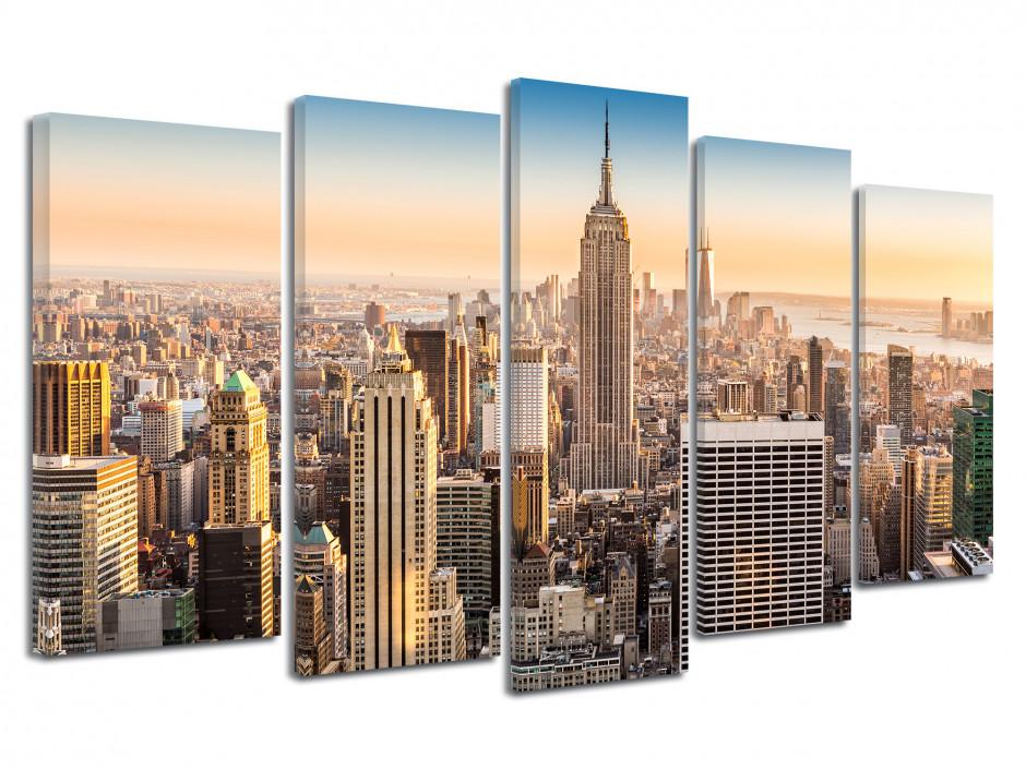Tableau deco moderne New York Manhattan
