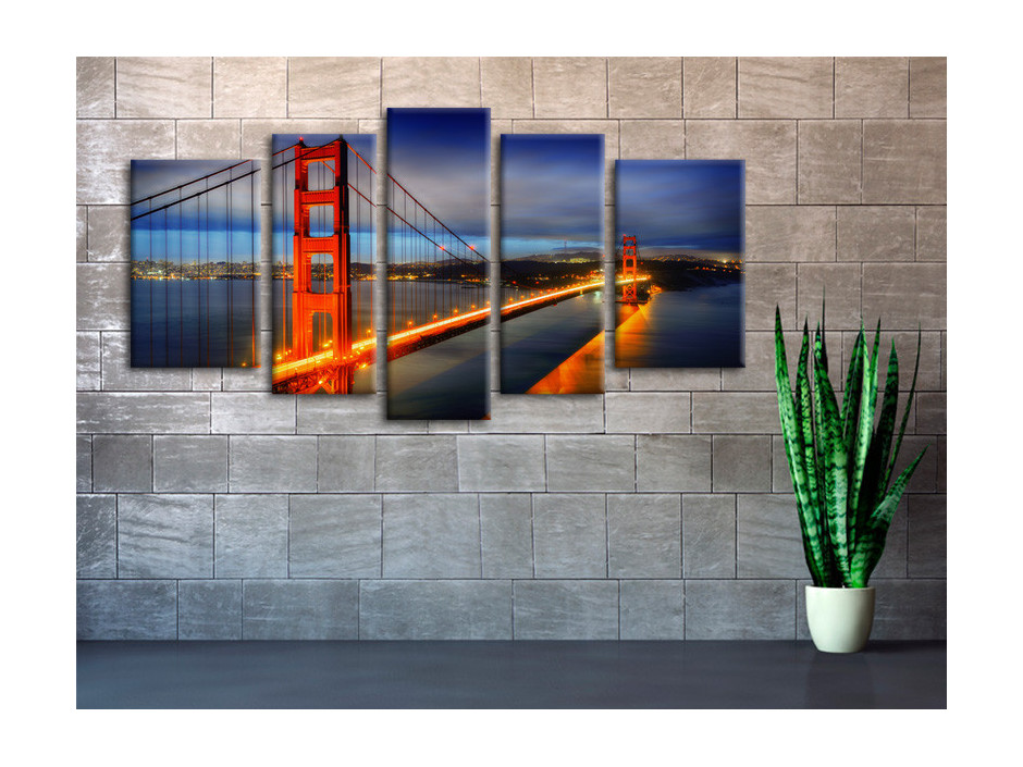 Tableau toile deco San Francisco