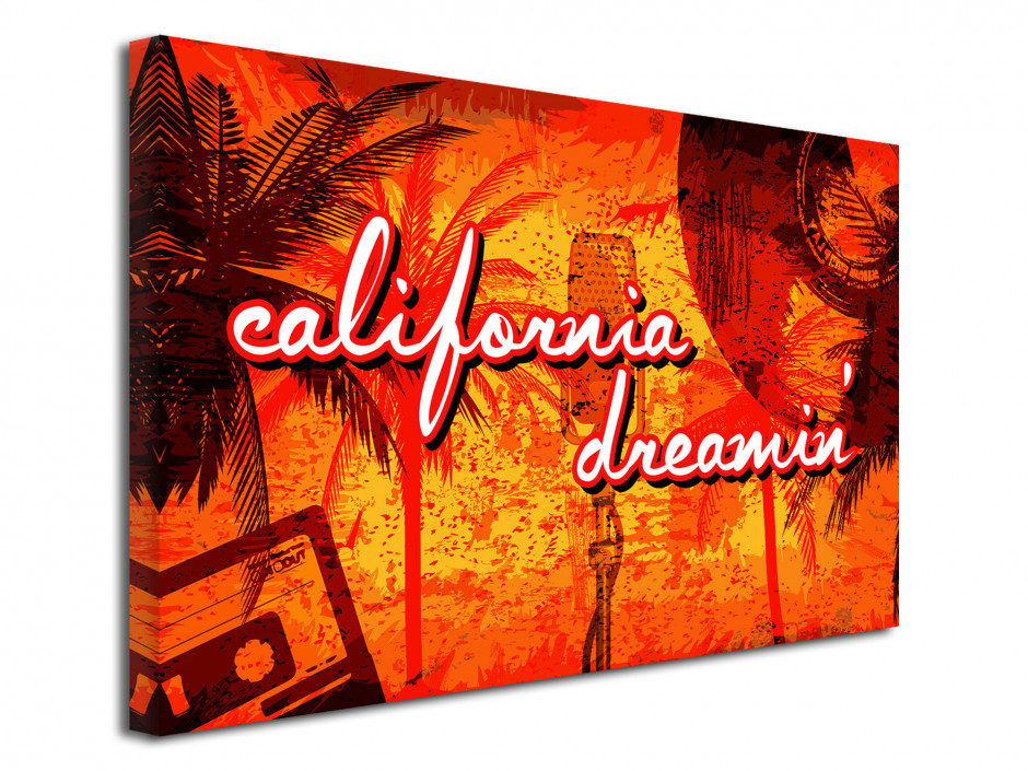 Tableau murale California Dream