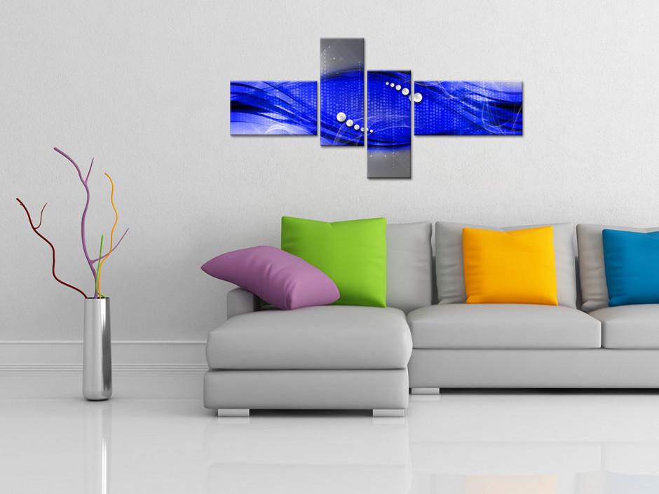 Tableau toile décorative abstraite Gacrux