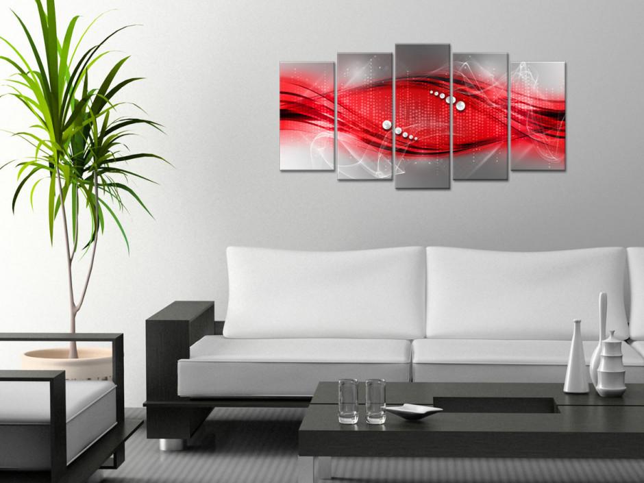 Cadre décoration murale abstraite multipanneaux